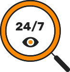 24\7 Click-Fraud Monitoring