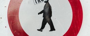 Trust written on graffiti image