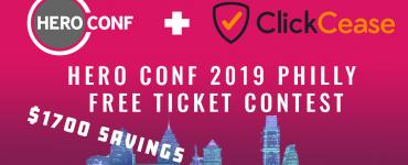 Hero Conference 2019 Philadelphia ClickCease ticket contest