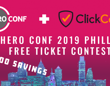 Hero Conference 2019 Philadelphia ClickCease ticket contest
