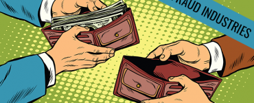 hands holding wallets. One wallet with cash, the other empty.