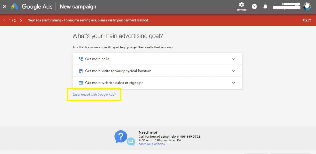Learning how to set up a Google Display Ad