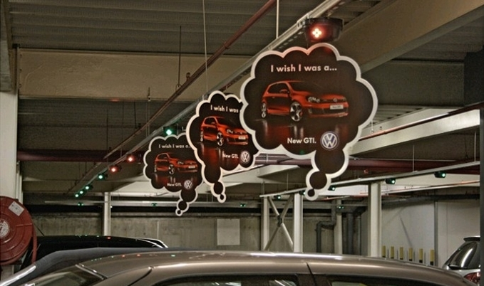 Volkswagens guerilla marketing campaign