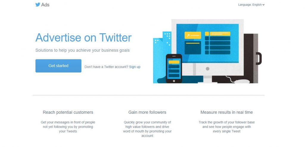 Twitter Ads gets you exposure on this huge social media platform