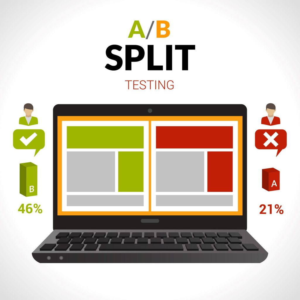 Split testing your keywords is part of the research process