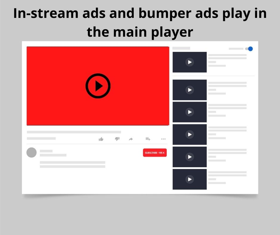 In stream YouTube ads offer a way to market your business