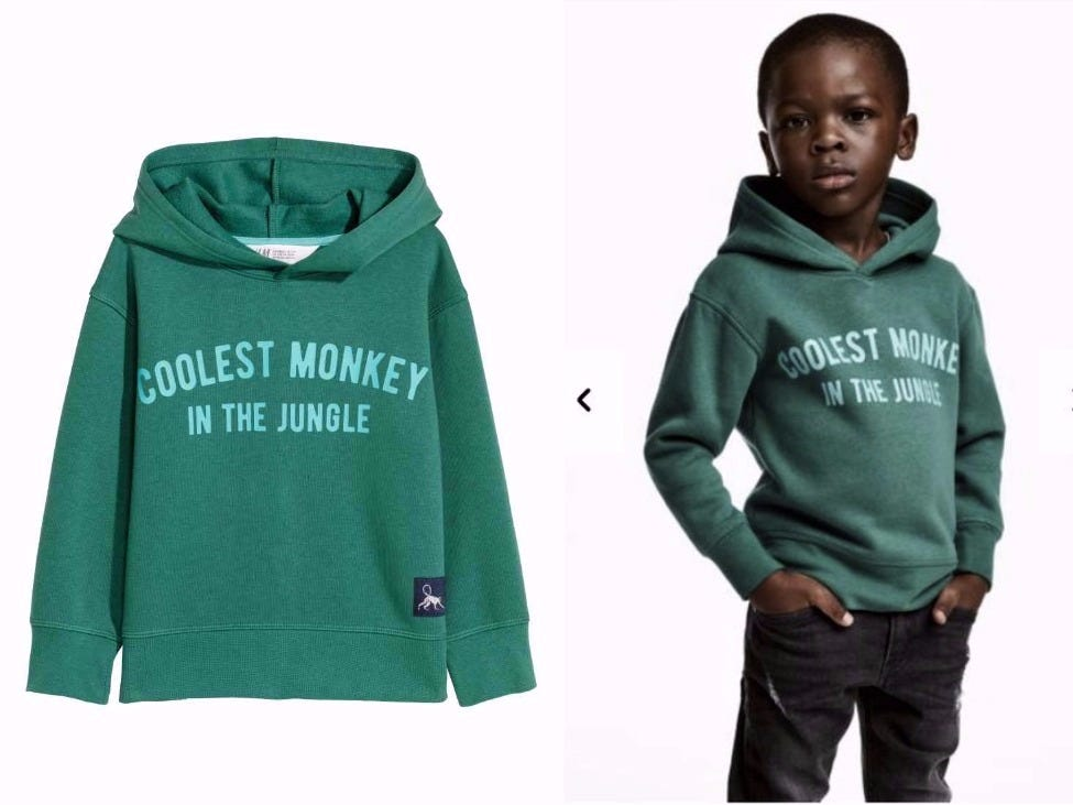 This controversial ad from H&M was seen as racist