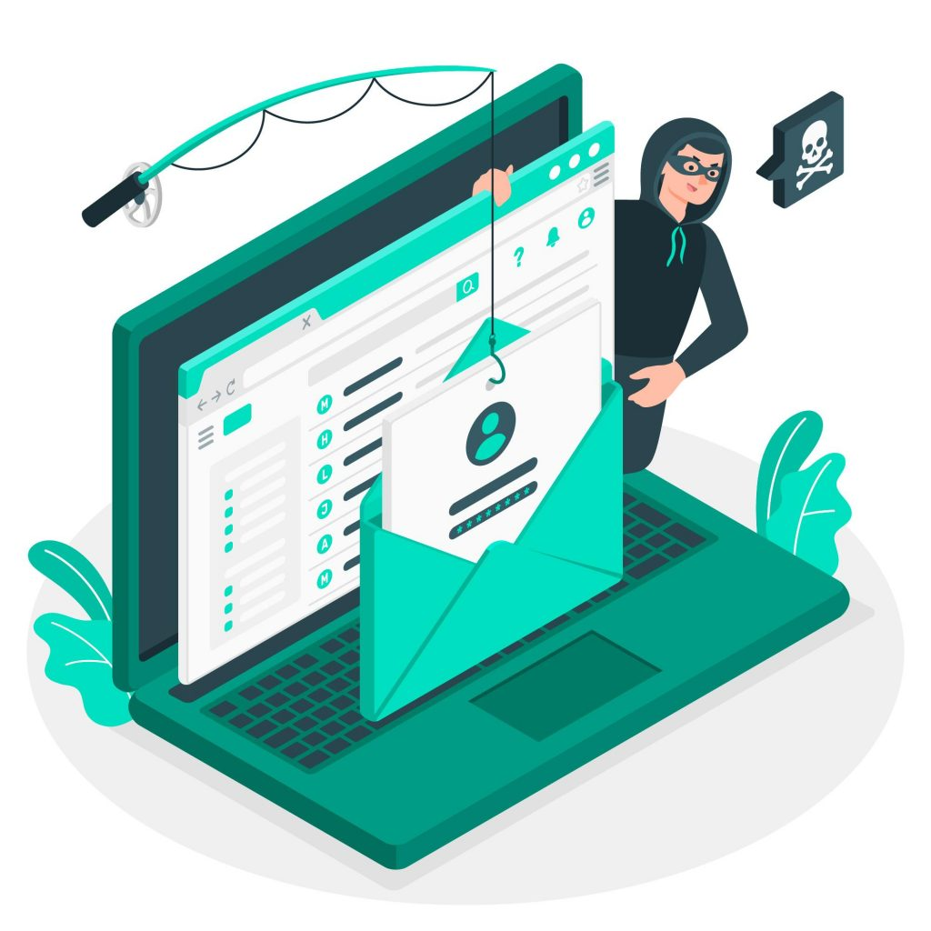 phishing is a common form of digital fraud