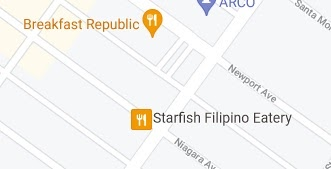 Google Maps ads are usually square icons