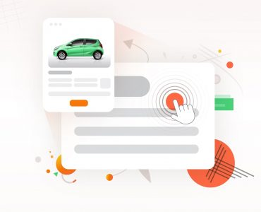 A visualization of click fraud on automotive marketing campaigns